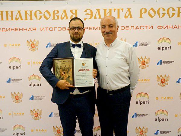 Члены СРО «МиР» стали лауреатами премии «Финансовая элита России»