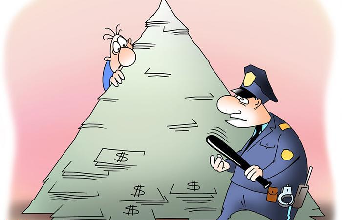 Усилена ответственность за организацию «финансовых пирамид»